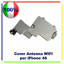 COVER METALLICA ANTENNA WIFI WI FI PER  IPHONE 4S STAFFA SCHERMATURA