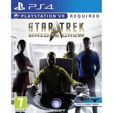 Star Trek Bridge Crew Ps4 PlayStation 4 VR