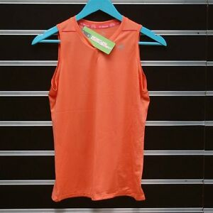 Mizuno Women Singlet Drylite Sport Top Vest Orange S