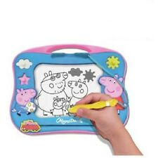 Peppa Pig Magna Magnetic Doodle Draw Drawing Erase with Stamps