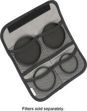 Insignia 4-Pocket camera Lens Filter Wallet Lens Pouch Adapter case