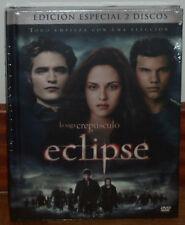 ECLIPSE LA SAGA CREPUSCULO EDICION ESPECIAL DIGIBOOK 2 DVD+LIBRO NUEVO DRAMA R2