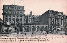 GRUSS AUS DEM HOTEL FRANKFURTER HOF., FRANKFURT, GERMANY 1899 POSTCARD