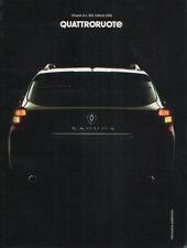 Renault Laguna SporTour Berlina Coupè GT Monografia Quattroruote 2008