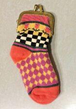 Mackenzie Childs Sock Change Purse New