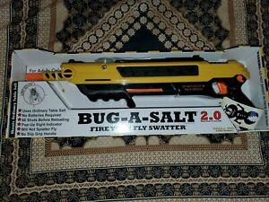 UNUSED Bug-A-Salt 2.0 Original Salt Gun Fly Bug Pest Control Authentic OPEN BOX