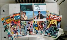 MAN FROM ATLANTIS DVDs and Marvel comic books lot(1970s) Patrick Duffy