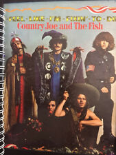 Country Joe And The Fish - I-Feel-Like-I'm-Fixin'-To-Die  Album Cover NOTEBOOK!!