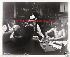 Original Photo Robert Redford & Paul Newman in The Sting 1973 Poker