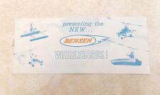 Vintage BENSEN Whirlybirds Ultralight Gyrocopter Aircraft, Kits, Plans Brochure