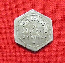 WWII German Security Police School (Siсherheits Polizei-schule) Token. 20 pfenn.