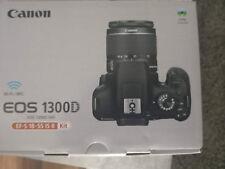 Canon EOS 1300D 18.0MP Digitalkamera - Schwarz Kit mit EF-S IS II 18-55mm...