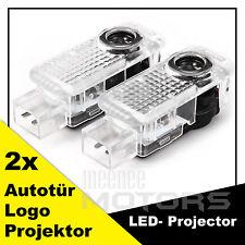2x LED Geist Schatten Autotur AUDI Logo Licht Projektor für AUDI  Neu