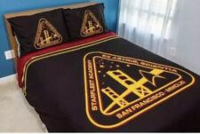Star Trek Tng Starfleet Academy Bedding Set Duvet Cover and Pillowcases Sz Queen