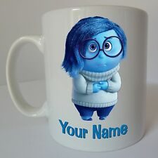 Inside Out Sadness Personalised Name Disney Mug Birthday Christmas Gift Present