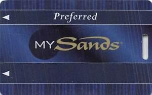 Sands Casino - Bethlehem, PA - Slot Card