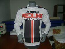 Redline Bike Jersey Classic Design Bmx Jersey Race Bike Shirt 80'S Bmx Vintage L