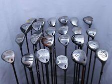 Lot of 24 Golf Club Fairway woods Callaway RH Nike Taylormade MSRP $3100