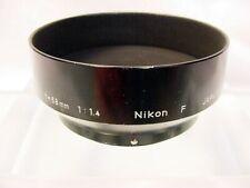 Nikon F Metal Lens Hood | Fits 50mm F1.4 58mm F1.4 | 52mm Pin Type | $20 | #1 |