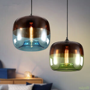Modern Electroplated glass Chandelier LED Pendant lamp Ceiling light