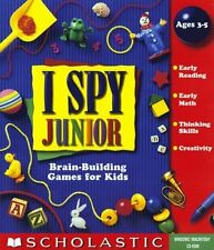 I Spy Junior   Brand New in Retail Box    Brain Building Games for Kids Ages 3-5