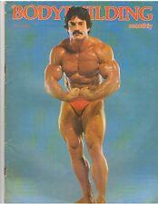 BODYBUILDING MONTHLY muscle magazine/Mke Mentzer 9-78 G.B.