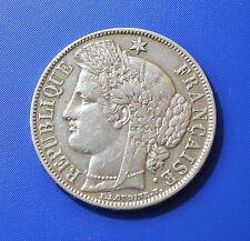 FRANCE, 5 Francs - 1870 A - silver coin - RARE   [#6860]