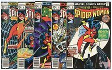 Spider-Woman #1 - 50  Complete Set  avg. VF+ 8.5  Marvel  1978  No Reserve