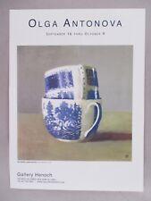 Olga Antonova Art Gallery Exhibit PRINT AD - 2004