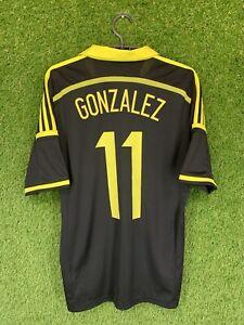 AIK STOCKHOLM #11 GONZALEZ 2014/2015 FOOTBALL JERSEY HOME ADIDAS ORIGINAL SIZE S