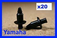 For Yamaha 20 motor cycle bike fairing panel trim push fastener clips