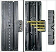 "1pc Aurora Slot Car 9"" STRAIGHT 4-Screw TERMINAL TRACK Lock & Joiner 1520 Unused"