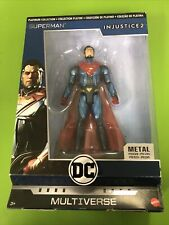 NEW DC Multiverse Collection Platinum Injustice 2 : Superman (Metal) Figure