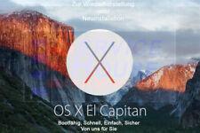 Mac OX X El Capitan USB-Boot-Stick 8GB (untouched) Wiederherstellung o.Neuinstal