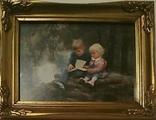 FORESTS & FAIRYTALES DONALD ZOLAN FRAMED LITHOGRAPH NUMBER PRINT PEMBERTON OAKS
