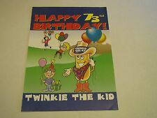 Hostess Twinkie the Kid Happy 73rd Birthday Poster Print Display Sign