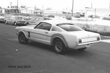 Ford Shelby GT 350 Mustang 1965 body work press campaign photo photograph