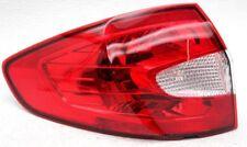 OEM Ford Fiesta Sedan Left Driver Side Halogen Tail Lamp Lens Chip