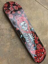 Baker Erik Ellington Roses Skateboard Deck Vintage