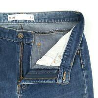 Jeanswest - 'Slim' High Rise Blue Faded Stretch Denim Jeans Women's Size 11 W30