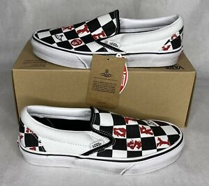 NEW Vans Vivienne Westwood Classic Slip-On Checkerboard Sneaker Men's Size 6.5