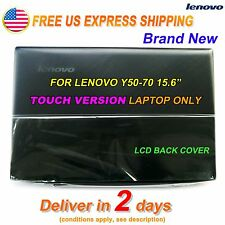 NEW Lenovo Y50-70 15.6 inch Top Lcd Rear Back Cover for Touch AM14R000300 US @@