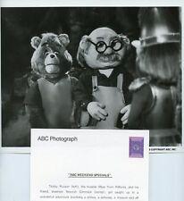 TEDDY RUXPIN NEWTON GIMMICK ADVENTURES OF TEDDY RUXPIN ORIG 1985 ABC TV PHOTO