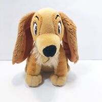 Disney Lady And The Tramp Plush Lady 7in Dog Stuffed Bean Bag Toy Just Play