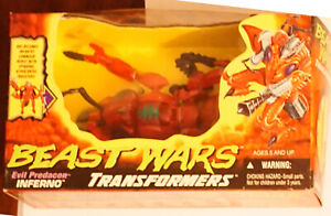 Hasbro Kenner Transformers Beast Wars Inferno MISB fire ant FOR THE ROYALTY!