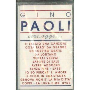 Gino Paoli MC7 Yesterday, Today / Five Record – Mc Fm 18010 Sealed