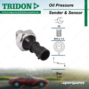 Tridon Oil Pressure Switch for Holden Astra TR TS AH Barina Calibra Captiva Viva
