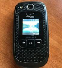 SAMSUNG SCH-U660 Convoy 2 Verizon Rugged Flip Camera Phone Clean and Working A++