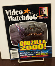 VIDEO WATCHDOG ISSUE #71 GODZILLA 2000-EXORCIST-MANHUNTER-WAX MASK NM/MINT