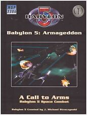 Mongoose Babylon: 5 Call to Arms Armageddon (Hard Cover Sourcebook) *New*
